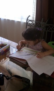 Estefania is very committed. God willing, she stays like that. : )