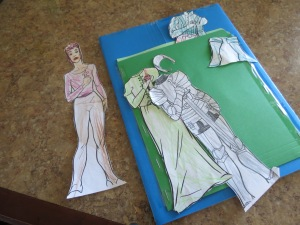 Joan of Arc Paper Doll