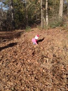 Natalia exploring : )