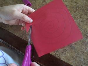 Cutting spiral