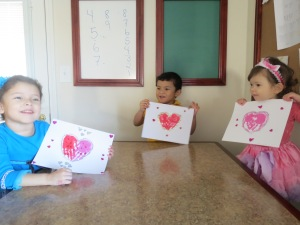 They loved their crafts!